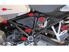 Rahmenkappenset / Abdeckungen 13-tlg. für BMW R 1200 GS LC ADVENTURE (≥ Bj.2014)