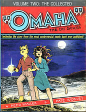 The Collected Omaha the Cat Dancer Vol. II-Reed Waller/Kate Worley-Signed, # Ed.