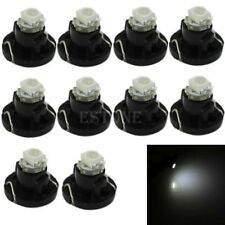 10pcs White Neo Wedge 1 SMD 1210 LED Bulbs T4.2 HVAC Climate Control Lights