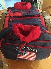 Old Navy CANINE DOG BACKPACK HARNESS FLAG PATRIOTIC PARADE Hiking Insulated