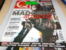 MADONNA - UK Q MAGAZINE #202 -MAY 2003 - EMINEM - BLUR - AUDIOSLAVE