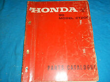 1964 64 1965 65 1966 66 HONDA CT200 CT 200 90 PARTS MANUAL BOOK CATALOG