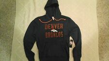 Denver Broncos 47BRAND Cross - Check Pullover Hoodie