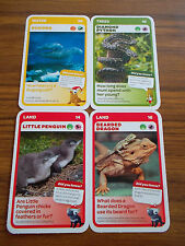 WOOLWORTHS BABY AUSSIE ANIMAL CARDS Nos 10 14 16 36