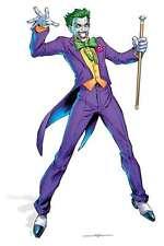 JOKER Grandezza naturale Sagoma Di Cartone In piedi Batman Justice League