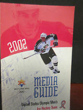 2002 WINTER OLYMPICS-SALT LAKE CITY- TEAM U.S.A. MEN'S & WOMEN'S OLYMPIC HOCKEY