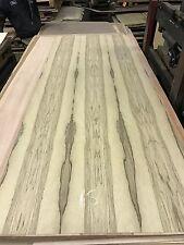 """Wood Veneer Black Limba 48x98 1 Piece 10Mil Paper Backed """"EXOTIC"""" TRU 15"""