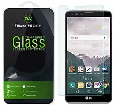 Dmax Armor Tempered Glass Screen Protector Saver For LG Stylo 2 V
