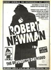 "ARTICLE - ADVERT 19/11/94PGN34 15X11"" ROBERT NEWMAN : THE DEPENDANCE DAY VIDEO"