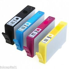 Set of 4 Ink Cartridges No 364XL Non-OEM Alternative With HP 3070A