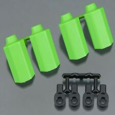 RPM 80404 Shock Shaft Guard Set Green (4) Traxxas Slash/Sport/Stampede/Rally
