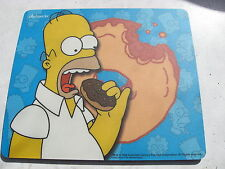 SIMPSON EATING COOKIE MOUSE MOUSEMAT MAT UNUSED.