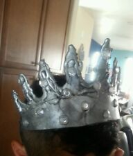 Handmade Gothic CROWN Evil Queen Dark Princess BLACK SWAN Halloween Unique
