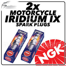 2x NGK Iridium IX Spark Plugs for TRIUMPH 865cc Bonneville T100 50th 2014 #2202