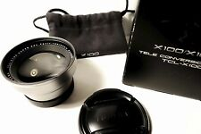FUJIFILM TCL-X100 TELE CONVERSION LENS (in SILVER), FOR X100T and X100S and X100