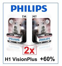 2x H1 VisionPlus +60% PHILIPS 12258VPB1 55W 12V 12258VP Vision Plus Germany