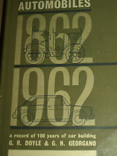 ALL CARS 1862 100 YEARS REFERENCE TOOL CLECO HERON HERMES NOVA NSU REX SIMPLEX