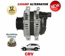 FOR HONDA CRV S 2.2 CTDI N22A2 2005-12/2009 NEW ALTERNATOR UNIT 130AMP