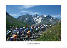Tour de France MEIJE GLACIER Premium Cycling Poster Print by Graham Watson