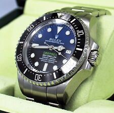 Rolex Sea-Dweller Deepsea 116660 BLSO JAMES CAMERON Black/Blue Ceramic *MINT*