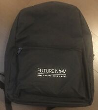 Demi Lovato Nick Jonas Brand New Rare Future Now Tour Backpack VIP Merch