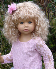 Masterpiece Cassi Blonde Wig, Fits Up To 18 1/2 Inch Head, Doll Not Included