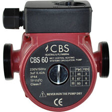 CBS 60 CENTRAL HEATING CIRCULATOR PUMP DOMESTIC - REPLACES GRUNDFOS-MYSON-WILO