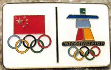 Vancouver '10 CHINA Olympic NOC Delegation Team pin
