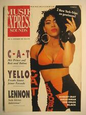 MUSIK EXPRESS SOUNDS 1988 # 12 - CAT YELLO JOHN LENNON ROBERT CRAY DURAN DURAN