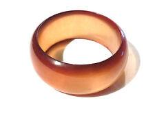 Bijou lucite bracelet fantaisie jonc lucite ambrée bangle