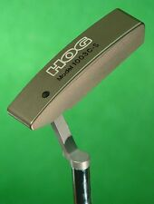 "Hog 1003CS Tour Milled 34"" Blade DogLeg Right Putter Golf Club  w/ Headcover"