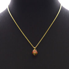 Kate Spade Outside The Box Strawberry Necklace $48
