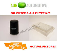 PETROL SERVICE KIT OIL AIR FILTER FOR TOYOTA COROLLA VERSO 1.8 135 BHP 2001-04
