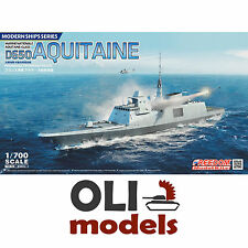 1/700 French Navy D650 AQUITAINE FREMM Multipurpose Frigate Freedom Models 83001