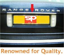 RANGE ROVER CHROME REAR BOOT TRIM STRIP L322 REAR DOOR LETTERING PANEL