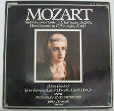 "MOZART SINFONIA CONCERTANTE HORN CONCERTO FRIEDRICH KEMENY FERENCSIK 12"" LP f268"
