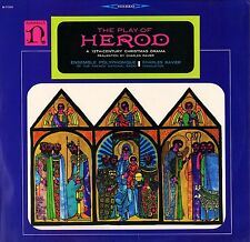 H-71181 ENSEMBLE POLYPHONIQUE/RAVIER the play of herod uk nonesuch LP PS EX/EX