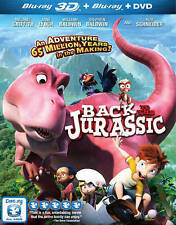 Back to the Jurassic (Blu-ray/DVD, 2015, 2-Disc Set) + 3D - BRAND NEW SEALED