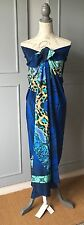 Gottex Emerald boa  Pareo/Sarong large 100% Silk New+Tags RRP £170