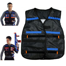 Tactical Vest Kids Clip Jacket Foam Bullet Ammunition Holder For Nerf New Sale