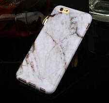 Unique Granite Marble Grain Design Soft Gel TPU Case Cover for iPhone 6 6s Plus