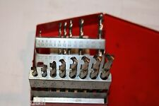 MATCO TOOLS 14 PIECE HIGH SPEED DRILL BIT SET WITH METAL INDEXED CASE