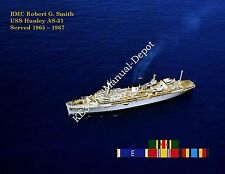 USS HUNLEY AS 31 Personalized Canvas Paper Print