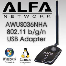 ALFA AWUS036NHA 802.11n Wireless-N Wi-Fi Adapter  Low Buffer