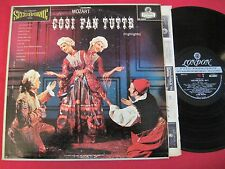 MOZART COSI FAN TUTTE ~ LONDON OS 25074 FFSS BB WB UK 1K/1K 1ST ~ RARE LP