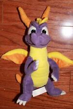 "SPYRO THE DRAGON 11"" STUFFED DOLL PLUSH TOY 2001 UNIVERSAL STUDIOS PLAY-BY-PLAY"