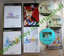Final Fantasy X + Final Fantasy X-2, FF, Game Set, Playstation 2, PS2, NTSC, JAP