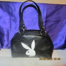 COLLECTIBLE ORIGINAL PLAYBOY PURE LEATHER LADIES HAND BAG