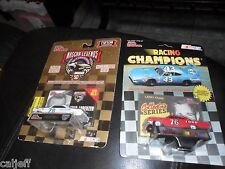 2 car Lot Racing Champions Nascar 1/64 Larry Frank #76 1964 Ford & Fred Lorenzen