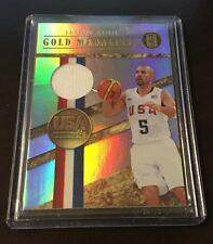 2010-11 Panini Gold Standard Medalists JERSEY Jason Kidd 111/299 Team USA *READ*